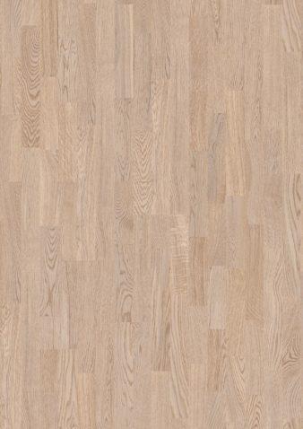 Diele 215mm breit Eiche weiss pigmentiert Ohne Bürstung Klick Parkett matt versiegelt ohne Fase 1  Schiffsboden 14x215x2200mm 2.84m2/Packet