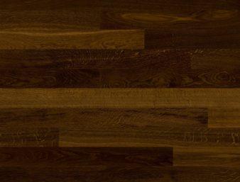 Eiche geräuchert 14/Chêne fumé 14/Rovere fumé 14 Ohne Bürstung Klebeparkett naturgeölt ohne Fase 1  Megapark 1250x100x11mm 2.50m2/Packet