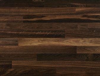 Eiche geräuchert 24/Chêne fumé 24/Rovere fumé 24 Ohne Bürstung Klebeparkett naturgeölt ohne Fase 1  Megapark 1250x100x11mm 2.50m2/Packet