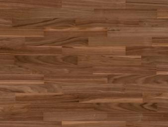 Nussbaum amerikanisch 14/Noyer américain 14/Noce americano 14 Ohne Bürstung Klebeparkett matt versiegelt ohne Fase 1  Monopark 440x70x9.6mm 1.97m2/Packet