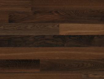 Eiche geräuchert 24/Chêne fumé 24/Rovere fumé 24 Ohne Bürstung Klebeparkett matt versiegelt ohne Fase 1  Trendpark 1450x130x11mm 2.64m2/Packet